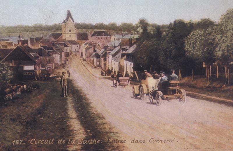 """""""Le circuit de la Sarthe"""", ancêtre des 24 heures du Mans"""